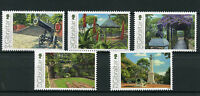 Gibraltar 2016 MNH Alameda Gardens 200th Anniv 5v Set Flowers Trees Stamps