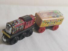 CELEBRATION SALTY & CONFETTI CAR lot Thomas Wooden Railway Party Supply trains