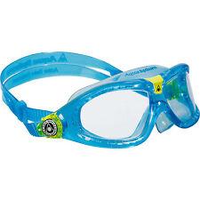 Aqua Sphere Seal Kid 2 Youth Swimming Goggles - Clear/Aqua