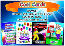 82 Flash Key Word Cards Communication - Autism - Games Great for Christmas Gifts