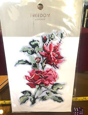 TOPSHOP Freedom New Iron On Jeans Floral Flower Design RRP £10