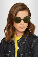 VICTORIA BECKHAM Feather Round Stainless Steel Acetate Sunglasses