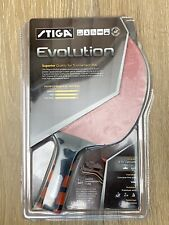 Stiga Evolution Premium Ping Pong Table Tennis Paddle Racket lightly used in box