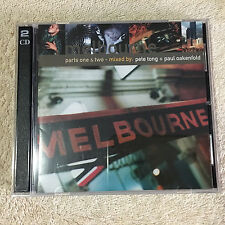Pete Tong + Paul Oakenfold ‎– Melbourne (Parts One & Two) SET 2 CD .