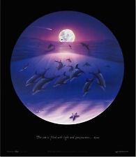 """WYLAND ! - """"Sea of Consciousness""""  POSTER 19"""" X 22"""" Special"""