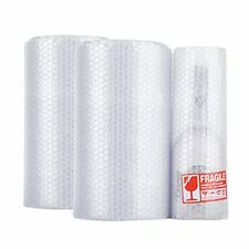Small Bubble Cushioning Wrapperforated Every 12 Inchanti 2 Rolls White