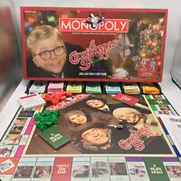 Monopoly Classic A Christmas Story Collectors Edition Board Game Family Fun