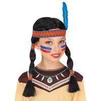 JUNGEN INDIANER KOSTÜM /& STIRNBAND # Karneval Fasching Kinder 122//128//134 # 0810
