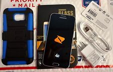 Samsung Galaxy S6 SM-G920P 32GB Black/White/Gold Boost Mobile Smartphone+Gift SB