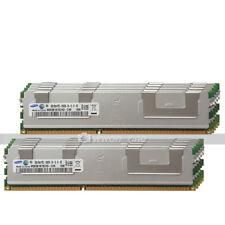Samsung 64GB KIT 8X8GB 2Rx4 PC3-10600R DDR3-1333MHz 240Pin ECC REG Server Memory