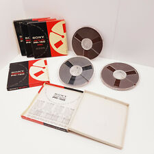 "Sony PR-150 1800ft 550m 7"" Reel to Reel Tape Reel Recording Tape 7 inch 18cm"