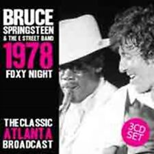 Bruce Springsteen - Foxy Night (3cd) NEW 3 x CD