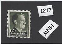 #1217     MNH 1943 stamp 60 Gr / Adolph Hitler /  Occupied Poland / Third Reich