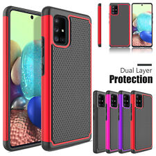 For Samsung Galaxy A20 A11 A32 A51 A71 5G Shockproof Hybrid Rubber Case Cover US