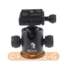 "BK-03 Camera Tripod Ball Head Ballhead with Quick Release Plate 1/4"" Screw"