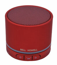 Bell + Howell Mobile Sounds True Wireless Bluetooth Speaker- Red - BH20TWS-R
