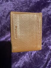 Mulberry Wallet - Brand New Natural Grain Tan Leather Card Holder Case Oak