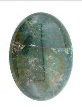 61.20 Carat 40x30 40mm x 30mm Bloodstone Cab Cabochon Gem Stone Gemstone EBS3308