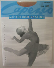 Capezio OTB Skating Tights Ice Skating or Roller Skates Ladies Large - Suntan
