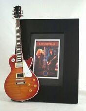 LED ZEPPELIN  Miniature Guitar Frame LP