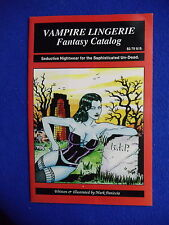 ~~~ VAMPIRE LINGERIE FANTASY CATALOG ~ 1992 ~  ACID RAIN STUDIOS ~~