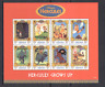 Grenada 1998 Disney/Hercules/Cat/Horse/Film sht n13512
