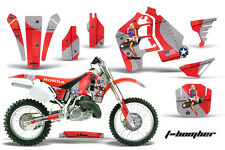 Honda CR500 CR 500 Graphics Kit Dirt Bike Wrap MX Stickers Decals 89-01 TBOMB R