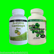 Garcinia Cambogia Pure Detox Capsules & Green Coffee Bean Extract