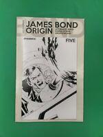 James Bond Origin #5 1:10 Cassaday B/W Incentive Variant Dynamite