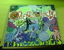 THE ZOMBIES Signed ODESSEY AND ORACLE VINYL ALBUM LP colin blunstone rod argent