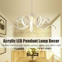 Dimmable Acrylic Modern LED Pendant Lamp Ceiling Light Chandelier Fixture  A