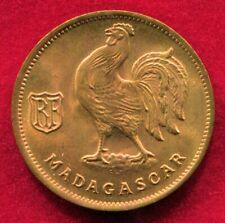 Madagascar - 1943SA 50c KM#1 in Choice Red BU