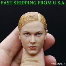 1/6 Kristanna Loken Head Sculpt 2.0 Terminator 3 T-X For Hot Toys Phicen ❶USA❶