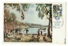Stamp 1979 Australia Day 20c Captain Cook on maximum card with Adelaide postmark