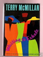 WAITING TO EXHALE TERRY MCMILLAN SIGNED 1ST/1ST HB-VERY GOOD CONDITION