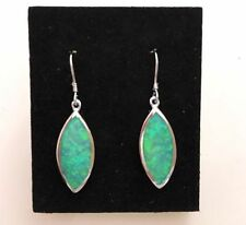 Opal Lab-Created/Cultured Drop/Dangle Costume Earrings