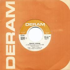 PROCOL HARUM A Whiter Shade Of Pale Lime Street B. FR Press Deram 18.005 1967 SP