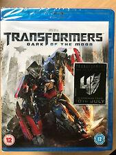 TRANSFORMERS - DARK OF THE MOON ~ 2011 Action Sci-Fi Sequel   UK Blu-ray BNIB