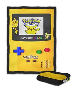 Gameboy Color Pokémon Edition Blanket (40X30 inch) / (60x50 inch) / (80x60 inch)