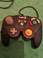 Nintendo gamecube compatible controller logic 3 model gc80 1 k game pad black
