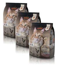 Katzen Trockenfutter - 3x Adult GF Maxi mit Geflügel - Katzenfutter getreidefrei