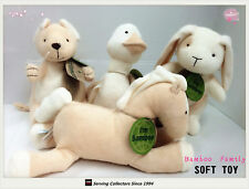 "6 SETS OF Bamboo Plush Soft Toys 8""-9"" FAMILY of 4--Top quality! (24 in total)"