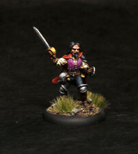 Painted Miniature Fanpro Swashbuckler Pirate Thief Fighter for D&D Pathfinder