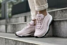 NIKE AIR MAX 97 Ladies Trainers UK SIZE 5.5 Barely ROSE/WHITE (921733-600) Pink