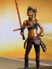 Star Wars Custom 3.75 Female Jedi Master figure lot #28