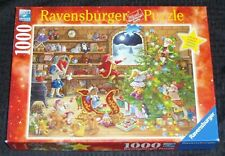 COUNTDOWN TO CHRISTMAS 1000 Piece Ravensburger Limited Edition Jigsaw Puzzle