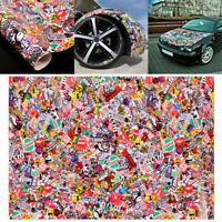 "1A75 Graffiti JDM Bomb Car Wrap Phone 20""x30"" Decal Waterproof Vinyl Sticker"