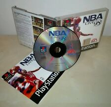 NBA LIVE 98 Sony PlayStation gioco game basket EA sports pal raro prima stampa