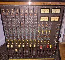 Soundcraft Séries 200 -8 Channels Mixer Studio Super Vintage