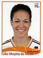 Panini FIFA World Cup 2011 Germany Women Sticker #37 Celia Okoyino Da Mbabi